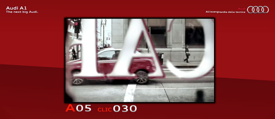 """Audi A1 Concorso """"Conta le A"""""""