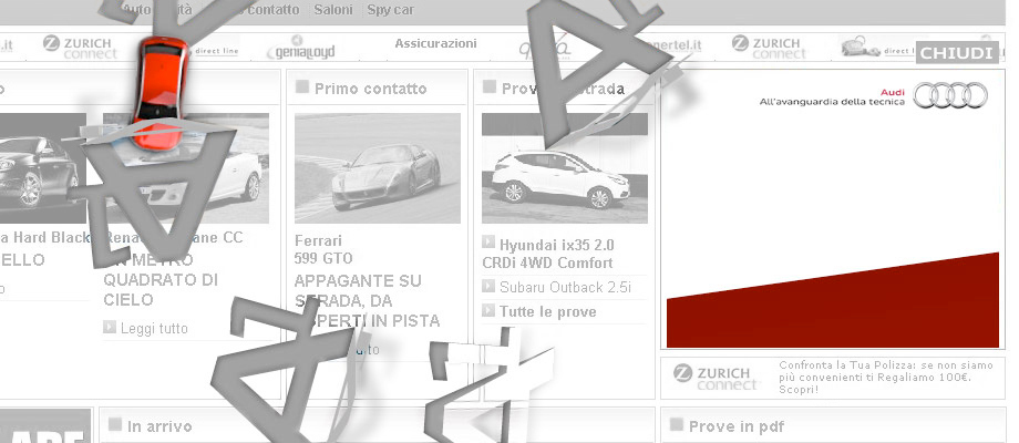 Audi A1 Web Campaign