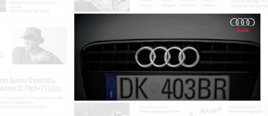 Audi TT Web Campaign