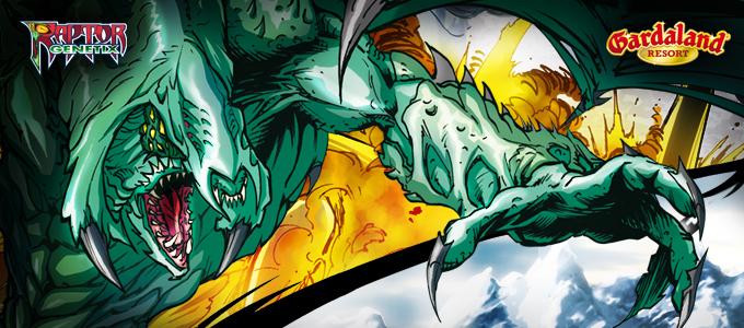 Gardaland Raptor Genetix