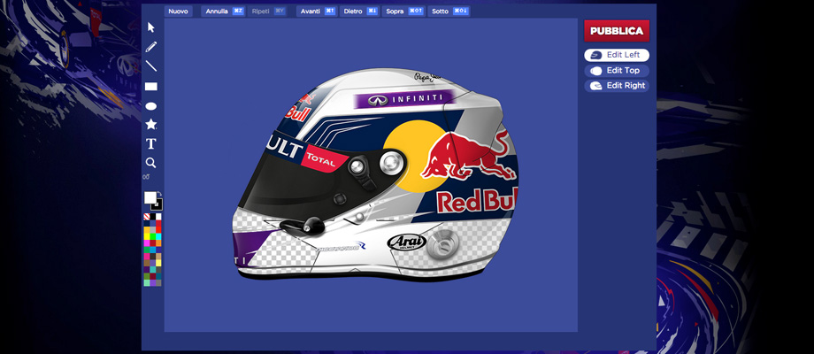 Red Bull – Helmet Art